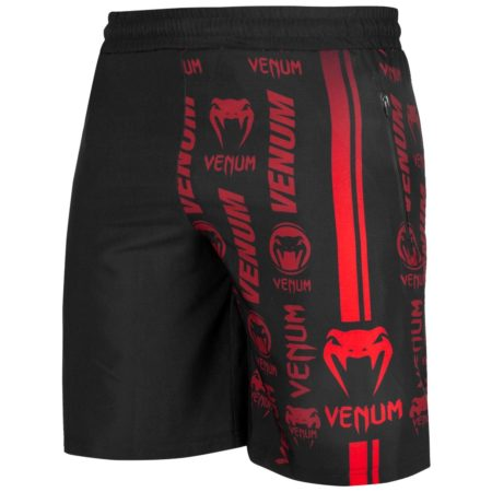 Шорты Venum Logos Black/Red